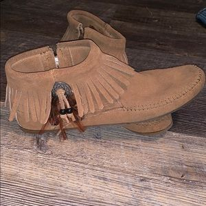 Minnetonka Moccasin Booties